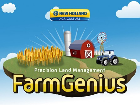 New Holland FarmGenius App